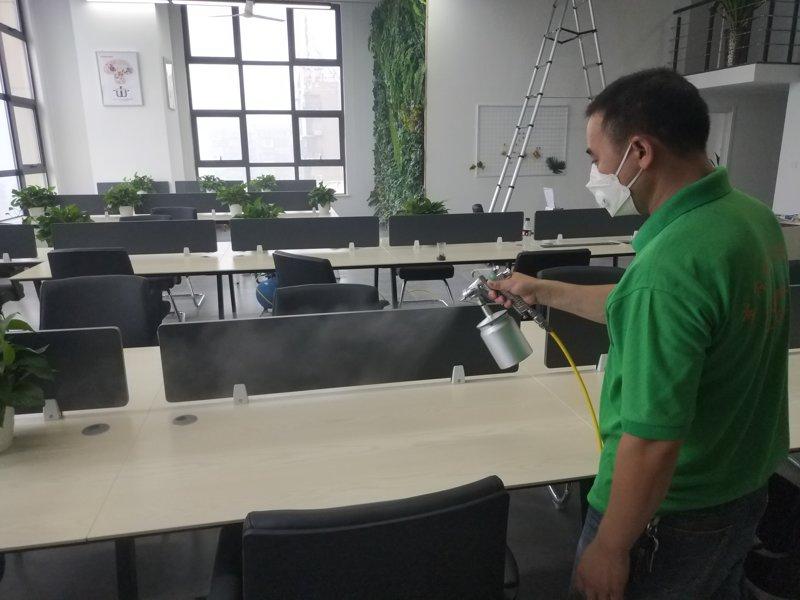 力洁狮空气净化:易车出行办公室甲醛治理案例